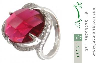 انگشتر نقره مجلسی و درشت زنانه - کد 11110