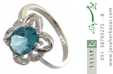 انگشتر نقره مجلسی طرح پروانه زنانه - کد 11113