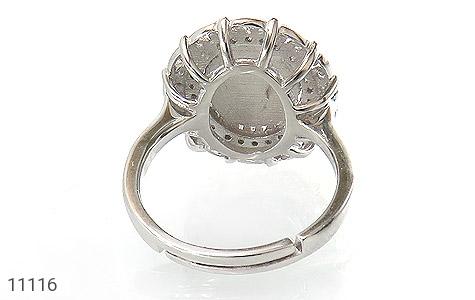 انگشتر نقره زیبا طرح نگین زنانه - تصویر 4