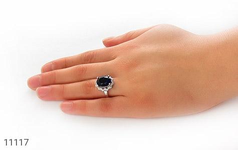 انگشتر نقره طرح ستاره درخشان زنانه - عکس 7