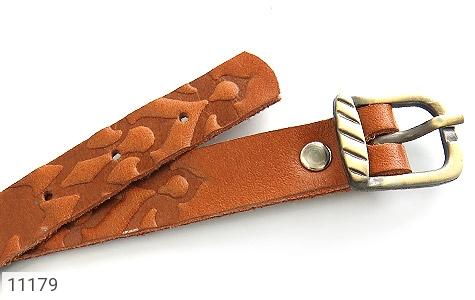 دستبند چرم طبیعی بلند و زیبا - عکس 3