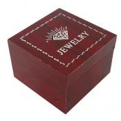 جعبه جواهر چوبی انگشتری