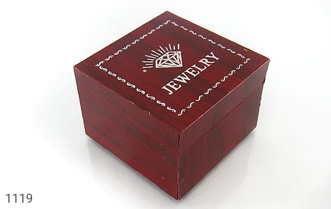 جعبه جواهر چوبی انگشتری - عکس 1