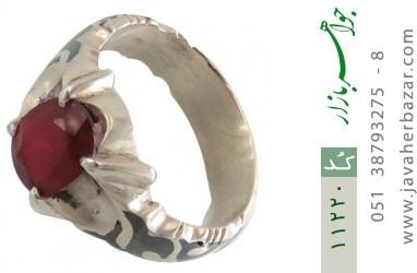 انگشتر یاقوت رکاب دست ساز - کد 11220