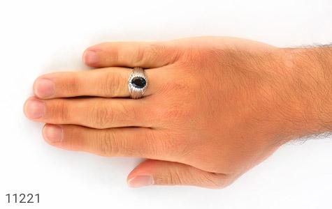 انگشتر توپاز رکاب دست ساز - تصویر 8