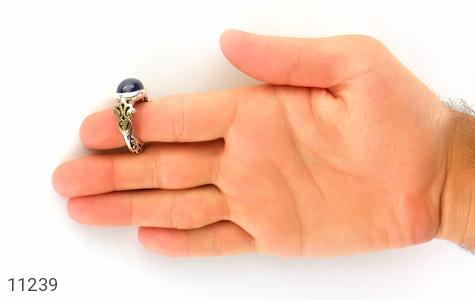 انگشتر یاقوت استار رکاب دست ساز - تصویر 8