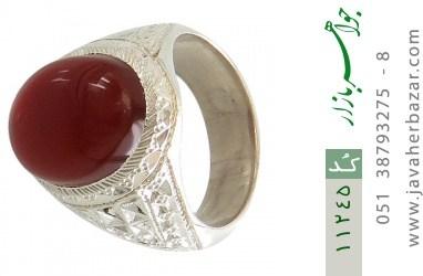 انگشتر عقیق یمن هنر دست استاد رحمانی - کد 11245