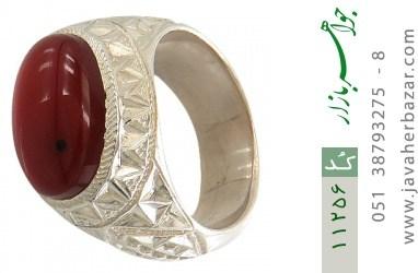 انگشتر عقیق یمن هنر دست استاد رحمانی - کد 11256
