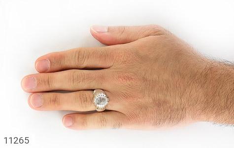 انگشتر دُر نجف رکاب دست ساز - عکس 7