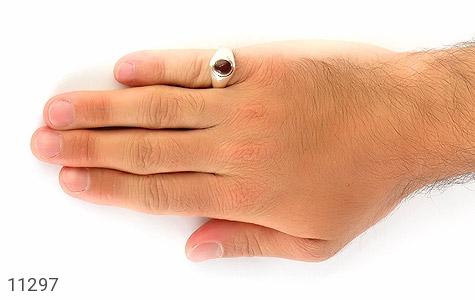 انگشتر عقیق یمن هنر دست استاد شرفیان - عکس 7