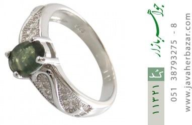 انگشتر زمرد طرح یگانه زنانه - کد 11321