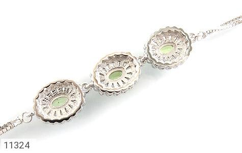 دستبند زبرجد طرح ارغوان زنانه - تصویر 2