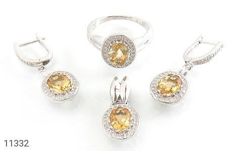 سرویس سیترین طرح جواهر زنانه - عکس 1
