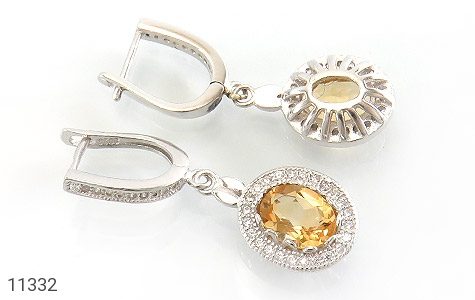 سرویس سیترین طرح جواهر زنانه - تصویر 6
