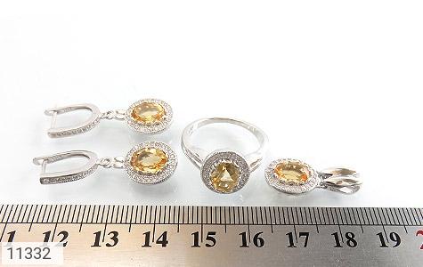 سرویس سیترین طرح جواهر زنانه - تصویر 8