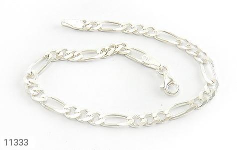 دستبند نقره اسپرت و شیک مردانه - عکس 3