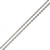 زنجیر نقره ظریف طرح حلقه