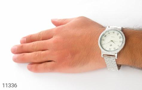 ساعت نقره درشت و اشرافی مردانه - تصویر 6