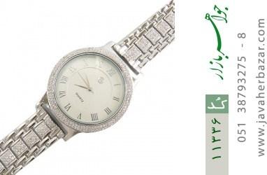 ساعت نقره درشت و اشرافی مردانه - کد 11336