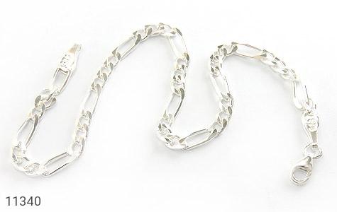 دستبند نقره طرح اسپرت - عکس 1