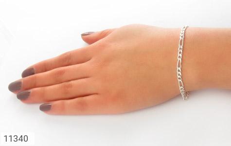 دستبند نقره طرح اسپرت - عکس 5