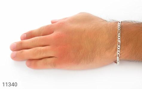 دستبند نقره طرح اسپرت - تصویر 6