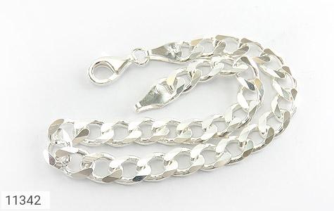 دستبند نقره درشت مردانه - عکس 1
