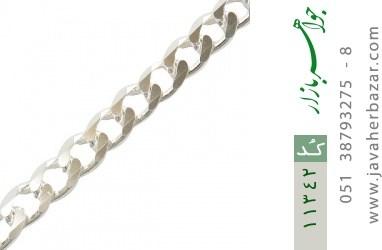 دستبند نقره درشت مردانه - کد 11342
