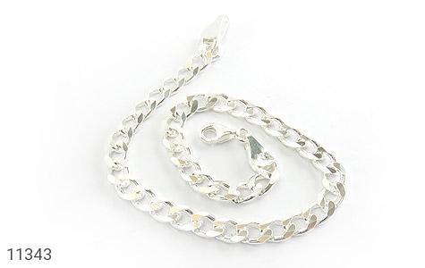 دستبند نقره درشت مردانه - تصویر 2