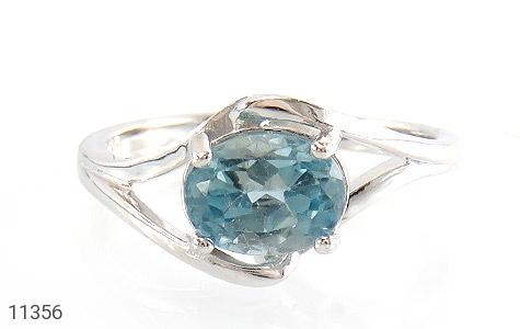 انگشتر توپاز آبی طرح پگاه زنانه - تصویر 2
