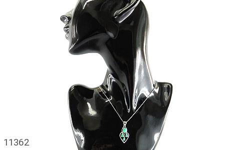 مدال زمرد درخشان طرح آرنیکا زنانه - تصویر 6