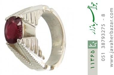 انگشتر یاقوت هنر دست استاد شرفیان - کد 11365