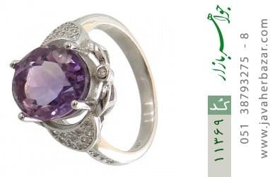 انگشتر آمتیست طرح شهرزاد زنانه - کد 11369