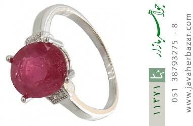 انگشتر یاقوت سرخ طرح مهلا زنانه - کد 11371