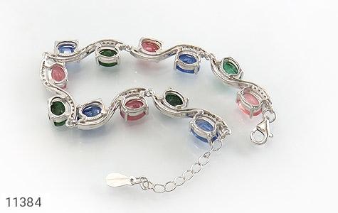 دستبند یاقوت و زمرد باشکوه و جذاب زنانه - تصویر 2
