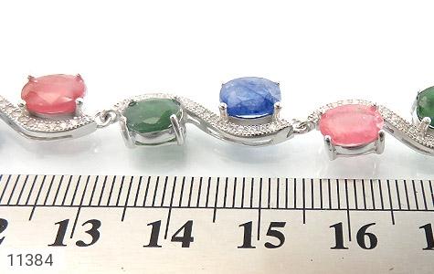 دستبند یاقوت و زمرد باشکوه و جذاب زنانه - تصویر 6
