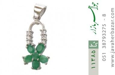 مدال زمرد طرح مستانه زنانه - کد 11385