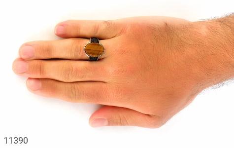 انگشتر چشم ببر ترک مردانه - تصویر 6
