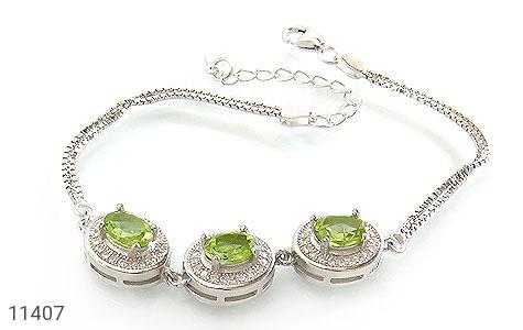 دستبند زبرجد طرح صبا زنانه - عکس 1