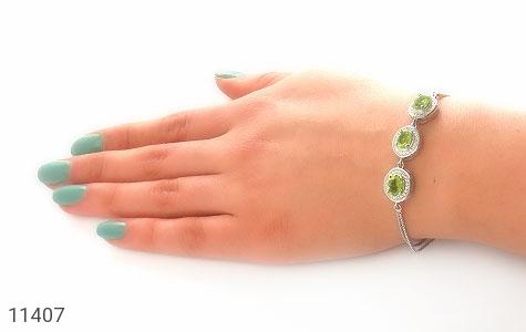 دستبند زبرجد طرح صبا زنانه - عکس 5