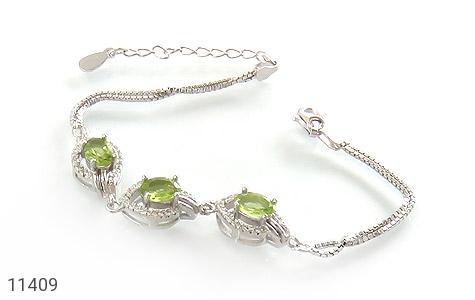 دستبند زبرجد طرح ساغر زنانه - عکس 1