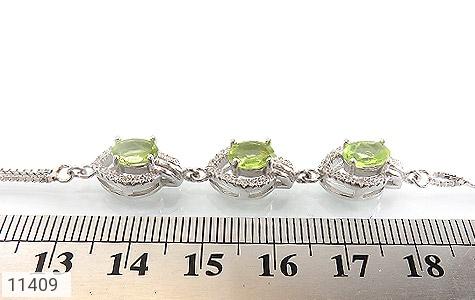 دستبند زبرجد طرح ساغر زنانه - تصویر 4