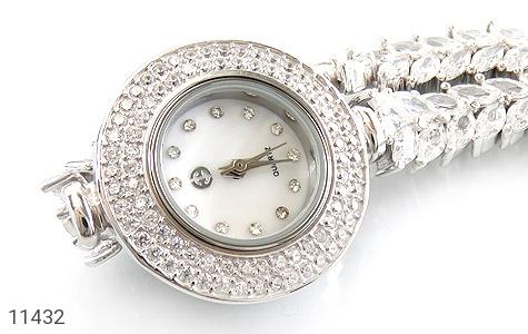 ساعت نقره طرح عروس زنانه - عکس 3
