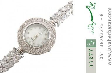 ساعت نقره طرح عروس زنانه - کد 11432