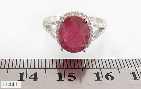 انگشتر یاقوت سرخ طرح بهناز زنانه - تصویر 6