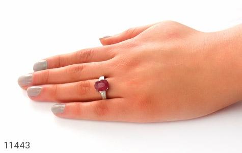 انگشتر یاقوت سرخ طرح فرناز زنانه - عکس 7