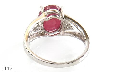 انگشتر یاقوت سرخ طرح رونیکا زنانه - تصویر 4
