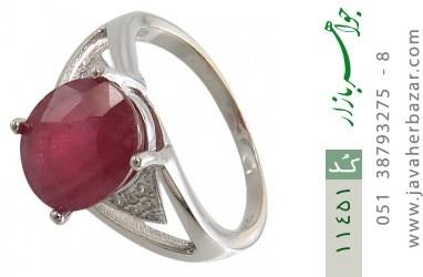 انگشتر یاقوت سرخ طرح رونیکا زنانه - کد 11451