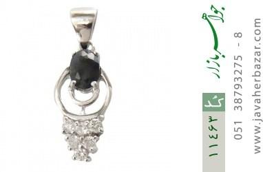 مدال یاقوت کبود طرح ملینا زنانه - کد 11463