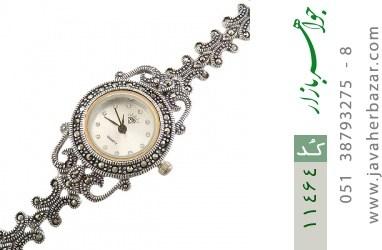 ساعت مارکازیت نقره طرح خاتون زنانه - کد 11464